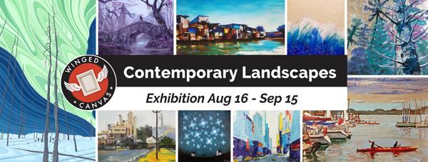 Contemporary Landscapes Exhibition